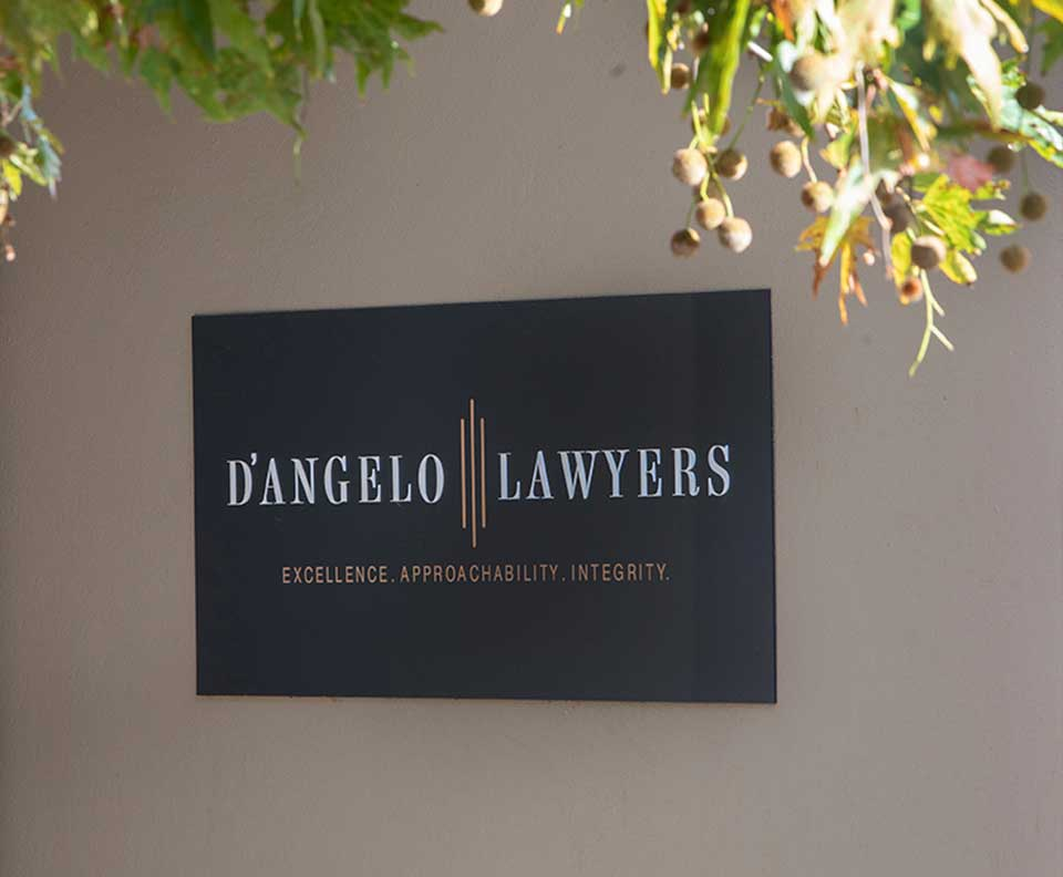 D'Angelo Lawyers