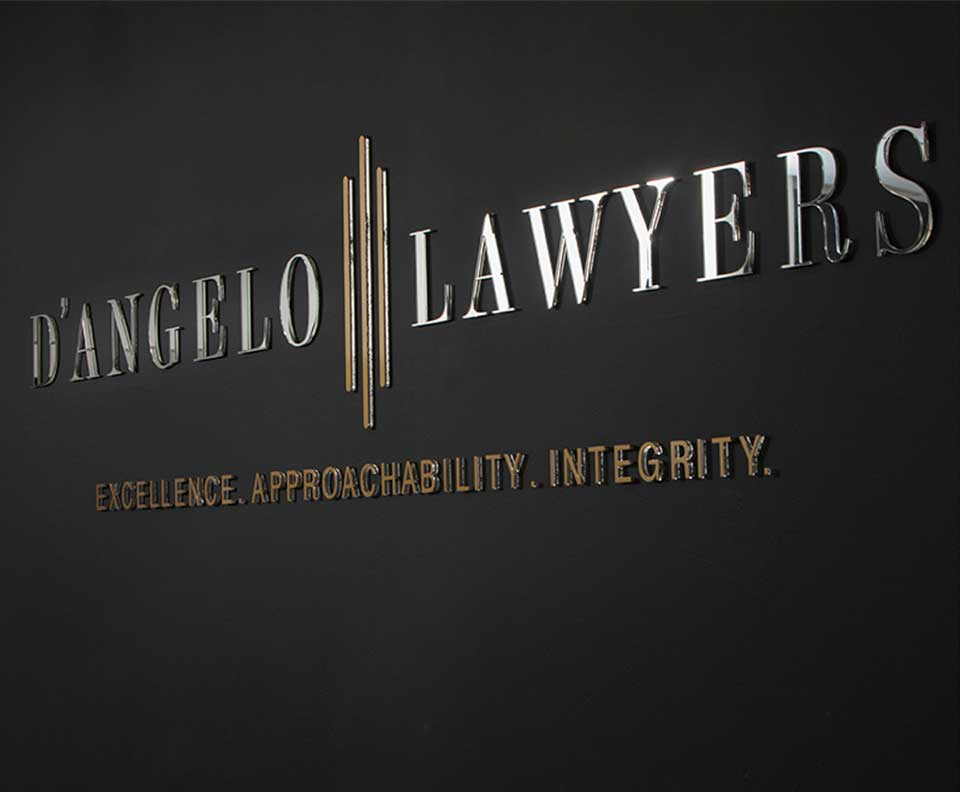D'Angelo Lawyers logo Adelaide full service legal
