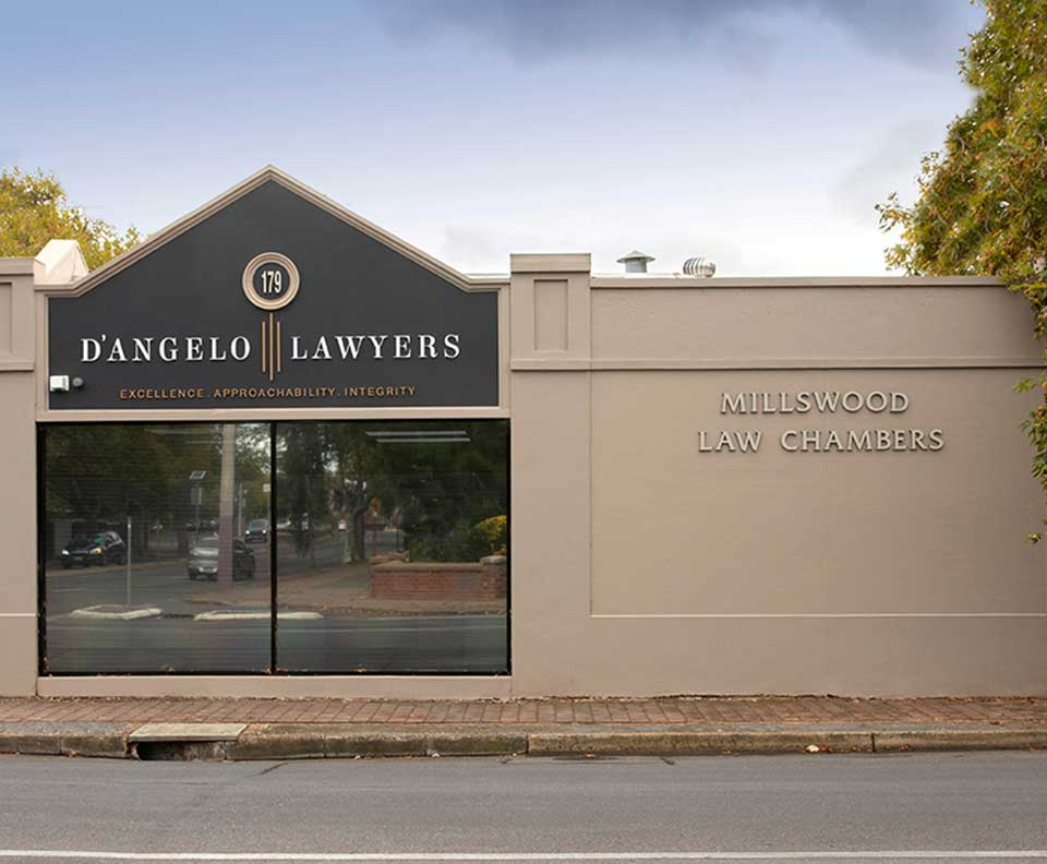 D'Angelo Lawyers Adelaide full service legal